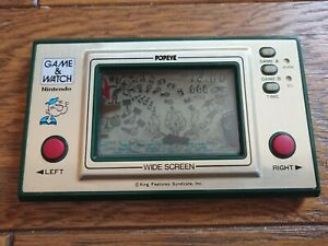 NINTENDO GAME AND & WATCH Popeye 1981 JAPAN