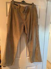 Mens light brown Corduroy Trousers M & S - 34 waist 29 leg