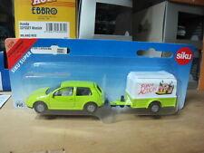 VW Golf with trailer siku toy car free ship