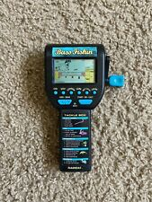 RADICA BASS FISHING hand Held Game VINTAGE 1996 Works Great