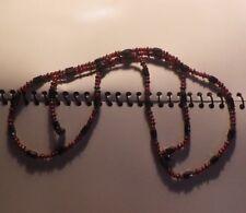 Vintage Flapper Art Deco Revival Magnetite Beads Necklace -NZ Antique Estate