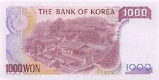 Korea S.  1000  Won  ND. 1983  P 47  Uncirculated Banknote LB918