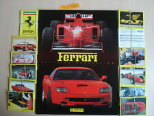 PANINI EMPTY ALBUM + ALL 180 STICKERS FERRARI