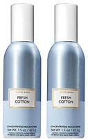 Bath & Body Works Fresh Cotton Concentrated Room Spray X2