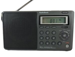 RadioShack Optimus 12-808 AM FM Shortwave TV Weather WX Portable Radio