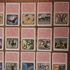 Jumanji Board Game REPLACEMENT Cards 30 pcs Complete set 1995 MB USED