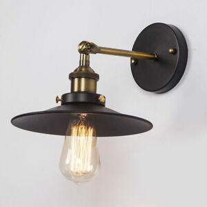 Loft Industrial Wall Lamps Vintage Bedside Wall Fixtures Vintage Indoor Lighting