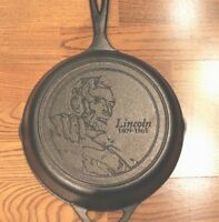 Abraham Lincoln Cast Iron Skillet 2017  Limited Edition American