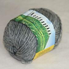 Sale 1 Ball 50g Soft Waem Chunky Thick Wool Hand Knitting Yarn Mom Gray  248-206