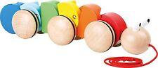 Nachzieh Raupe Holz Baby Kleinkind  Nachziehspielzeug