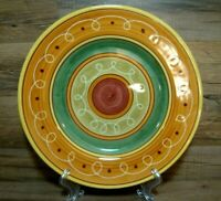 """PIER 1 - ETRUSCO - EARTHENWARE - 11 1/2"""" DINNER PLATES - ITALY - MORE AVAILABLE"""