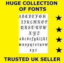 D055 20000 Fonts on CD