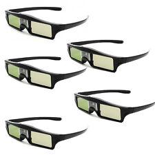 5X IR Active Shutter 3D Brille Für Acer / BenQ / NEC / Dell DLP-Link Projektor