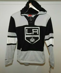NHL Los Angeles Kings Embroidered and Stitched Hooded Sweatshirt Youth Sizes NEW