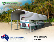 3x6 Car Shade Boat Shelter Carport Shed Garden Backyard Garage Caravan Cover DIY