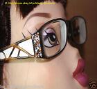 Monture lunettes femme woman Eyeglasses CHEZ COLETTE Monique + Boité étui
