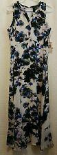 NWT IVANKA TRUMP Lined Dress WATERCOLOR Floral Flared Bottom  NEW! Sz 8 10 14