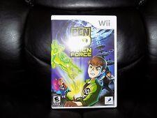 Ben 10: Alien Force (Nintendo Wii, 2008) EUC FREE USA SHIPPING