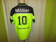 """Borussia Dortmund Nike Heim Trikot 1997/98 """"s.Oliver"""" + Nr.10 Möller Gr.M"""