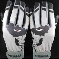 "Primal Baseball's Adult Pro Baseball Batting Gloves ""BONEZ"" Size MEDIUM"