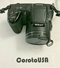 Nikon COOLPIX L810 16.1MP 26X Zoom Digital Camera - Black  + Sandisk Ultra 16 GB