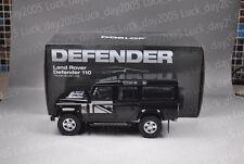 Century Dragon Land Rover Defender 110 Black 1/18 Diecast Model