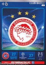 2014/15 Adrenalyn XL Champions League OLYMPAICOS FC Club Badge No.21