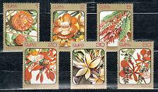 1Cuba 1984 Mi 2838-2843 Flowers - MNH