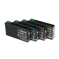 5x Compatible With Ink Cartridge 676xl Epson Workforce Pro Wp4530 Wp4540