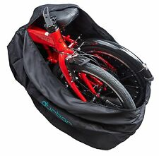 """FOLDING BICYCLE MOUNTAIN BIKE CARRY BAG TRAVEL CARRIER TRANSPORT LUGGAGE 14"""" 20"""""""