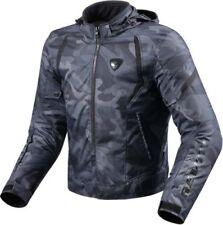 REVIT FLARE Herren Motorrad Textiljacke Sport - army schwarz Gr. M