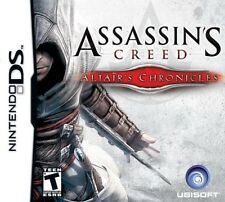 ASSASSIN'S CREED : ALTAIR'S CHRONICLES  ( JEUX NINTENDO DS ) COMPLET / CIB