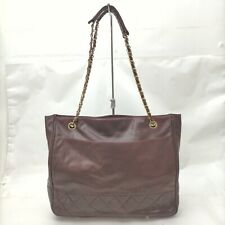 Shoulder Bag  Bordeaux Leather 707471