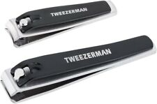 Tweezerman Professional Nail Clipper Set Straight and Curved blade Combo Set