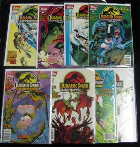 Jurassic Park Adventures 1994 Topps Comics Lot # 3 4 5 6 7 8 9 10 Movie CGC HOT!