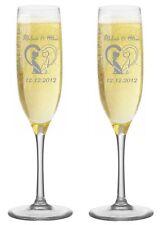 LEONARDO Sektgläser mit individueller Gravur Hochzeitgeschenk Geschenk