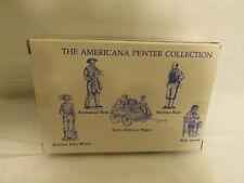 Liberty Falls Americana Collection Solid Pewter Figurines 1995 Tullys Wagon Ah72
