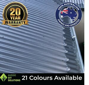 10m Corrugated Roof Ember Guard. BAL 29 Rated. Used as Leaf Guard + Gutter Guard