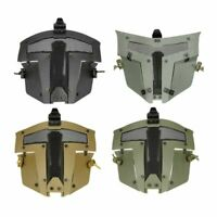 Tactical Airsoft Paintball SPT Mesh Full Face Mask Sparta AF Helmet Mask Cover