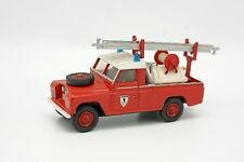 Corgi Spielzeug Code 3 1/43 - Land Rover 109 Pick Up Feuerwehr