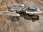 Star Wars Y-Wing Fighter with Pilot Action Figure