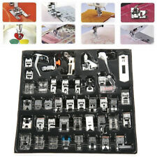 42x Metal Sewing Machine Foot Presser Feet Kit for Brother Singer Janome Parts