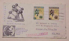 Dominican Republic Imperf Se-Tenant Pair 1959 To Usa Scarce