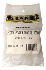 Forster Products - Pistol Powder Measure Rotor - Grain Weight 5.5 - # 011191
