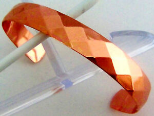 Copper Bracelet Wheeler Arthritic Healing Detox Sciatica Folklore cb 100