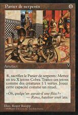 MTG Magic - Visions -  Panier de serpents  -  Rare VF