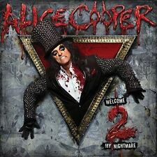 "ALICE COOPER ""Welcome 2 My Nightmare"" Welcome To My Nightmare 2   NEW (CD, 2011)"