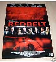 Filmposter A1 Neu Filmplakat Poster 59 * 84 cm Redbelt