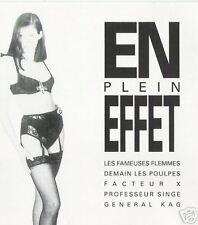 En Plein Effet French Funk Comp CD Demain Les Poulpes General Kag Facteur X