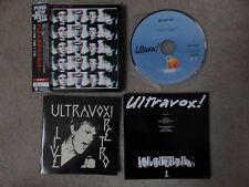 ULTRAVOX / JOHN FOXX - HA HA HA - JAPANESE MINI LP REPLICA CD WITH OBI + INSERT